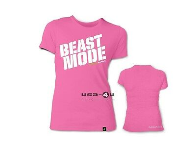 MusclePharm Womens Beast Mode Tee Shirt