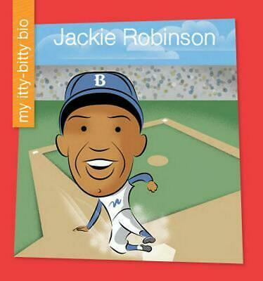 Jackie Robinson by Emma E. Haldy (English) Library Binding Book Free Shipping!