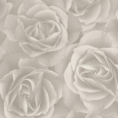 Rasch Floral Rose Pattern Wallpaper Modern Mural Flower Motif Textured Roll