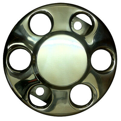 London Taxi Stainless Steel Metal Hub Caps Set (x4) Any Taxi