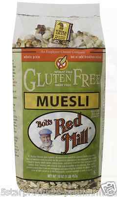 New Bob's Red Mill Muesli Cereals Breakfast Whole Grain Daily Health Wheat Free