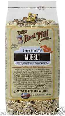 New Bob's Red Mill Old Country Style Muesli Cereals Breakfast Whole Grain Daily