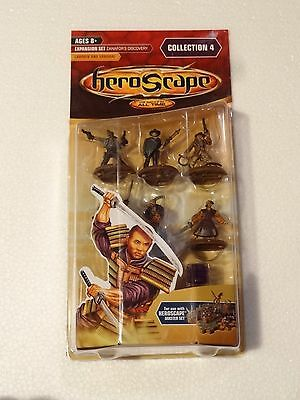 Heroscape - Lawmen & Samurai - Wave 4- NIB!- Tagawa Samurai Deadeye Guilty James