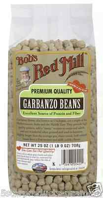New Bob's Red Mill Garbanzo Beans Protein Whole Grain Food Low Fat Cholesterol