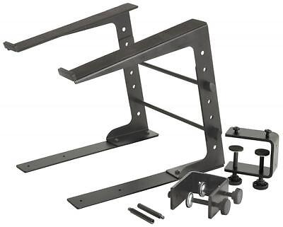 Citronic 180.262 Steel Compact Stand to Support a Laptop Computer Black - New