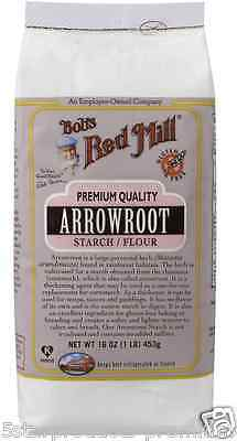 New Bob's Red Mill Arrowroot Starch Flour Mixes Gluten Free Baking Food Grocerie
