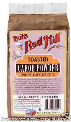 New Bob's Red Mill Toast Carob Powder Baking Aids Sweeteners Food Grocerie Daily