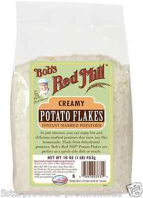 New Bob's Red Mill Potato Flakes Flour Mixes Creamy Food Snacks Groceries Daily
