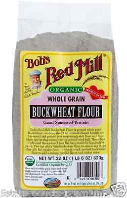 New Bob's Red Mill Organic Whole Grain Buckwheat Flour Mixes Baking Food Snacks