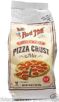 New Bob's Red Mill Gluten Free Pizza Crust Mix Flour & Mixes Food Groceries