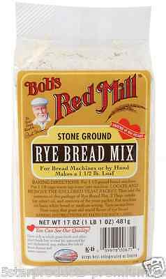 New Bob's Red Mill Rye Bread Mix Baking Flour & Mixes Food Groceries Snack Lunch