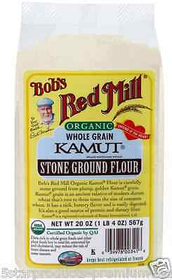 New Bob's Red Mill Organic Kamut Flour Mixes Food Groceries Whole Grain Baking