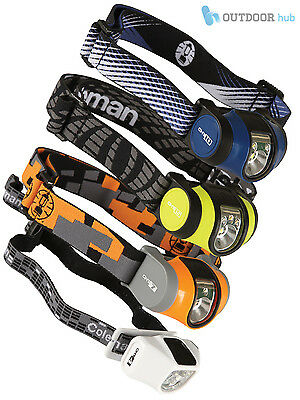 Coleman CHT Compact Headlamp Battery Power Head Torch Camping Light Hiking Car