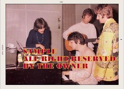 BEATLES FOOL ON THE HILL STUDIO REHEARSALS 1967 COLOR 5x7 PRO LAB KO-DAK CLASSIC