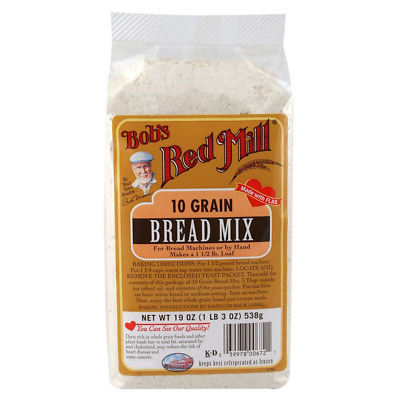 New Bob's Red Mill 10 Grain Bread Mix Baking Flour Mixes Food Groceries Lunch