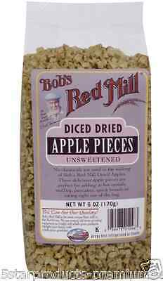 New Bob's Red Mill Diced Dried Apple Pieces Unsweetened Fruit Food Groceries