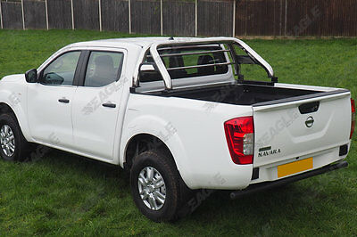 Nissan Navara NP300 Hawk Roll Bar - Fits with Tonneau Covers