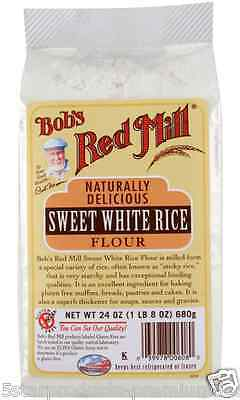 New Bob's Red Mill Sweet White Rice Flour Mixes Gluten Free Food Groceries Lunch