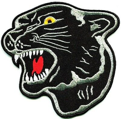 "Black Panther Party Patch Iron On Revolutionary Shirt Tiger Back Patches 8"" x 8"""