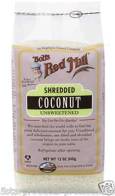 New Bob's Red Mill Shredded Coconut Unsweetened Natural Dried Fruit Whole Food