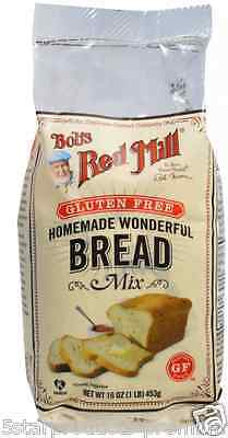 New Bob's Red Mill Homemade Wonderful Bread Mix Gluten Free Food Grocerie Baking