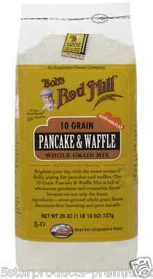New Bob's Red Mill 10 Grain Pancake Waffle Mix Baking Flour Food Groceries Lunch