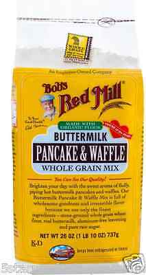 New Bob's Red Mill All Buttermilk Pancake & Waffle Whole Grain Mix Baking Cook