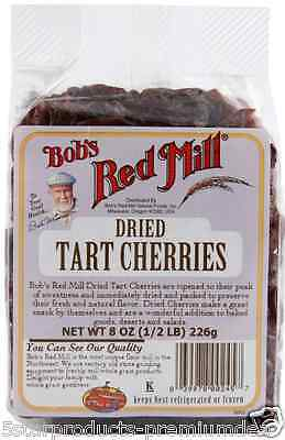 New Bob's Red Mill Tart Cherries Dried Fruit Baking Cereal Groceries Food Daily