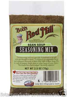 New Bob's Red Mill Bean Soup Spice Seasoning Mix Cook Daily Lunch Dinner Healthy