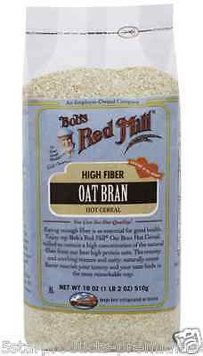 New Bob's Red Mill Oat Bran Hot Cereal Breakfast Foods Dietary Fiber Vitamins