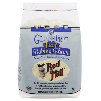 New Bob's Red Mill 1 To 1 Baking Flour Gluten Dairy Wheat Free Cook Lunch Food