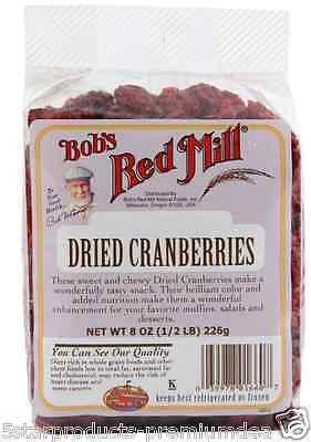 New Bob's Red Mill Dried Cranberries Fruit Food Groceries Healthy Snack Vitamin