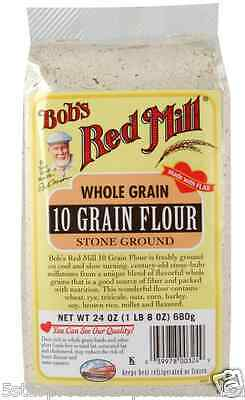 New Bob's Red Mill 10 Grain Whole Baking Flour Mixes Food Groceries Lunch Snack