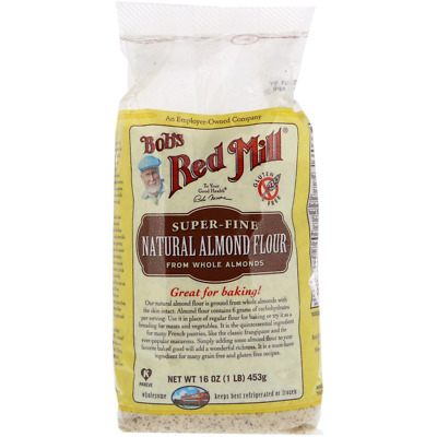 New Bob's Red Mill Natural Almond Meal Finely Ground Gluten Free Baking Flour