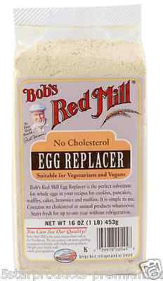 New Bob's Red Mill All Natural Egg Replacer Vegan Vegetarian Natural Baking Aids