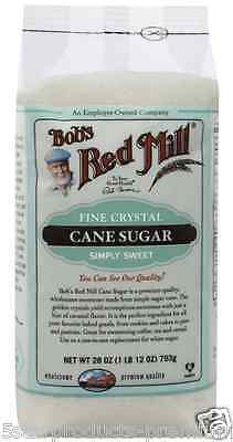 New Bob's Red Mill Cane Sugar Fine Crystal Sweeteners Daily Food Groceries Lunch