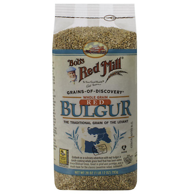 New Bob's Red Mill Whole Grain Red Bulgur Easy To Cook Cereals & Breakfast Foods