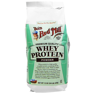 New Bob's Red Mill Whei Protein Boost Powder Amino Acid Concentrate Body Dietary