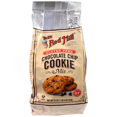 New Bob's Red Mill Chocolate Chip Cookie Mix Gluten Wheat Free Natural Cooking