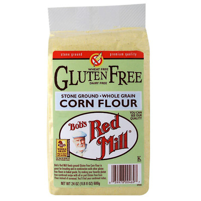 New Bob's Red Mill Gluten Wheat Free Corn Flour Mixes Whole Grain Baking Foods