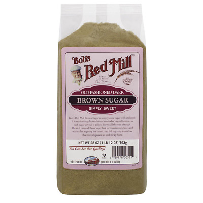 New Bob's Red Mill Old Fashioned Dark Brown Sugar Whole Grain Sweetener Food
