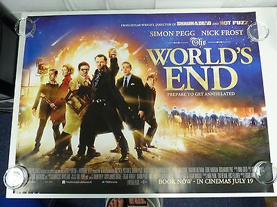The World's End Pegg Frost Comedy Original Film Filmposter Quad 76x102cm