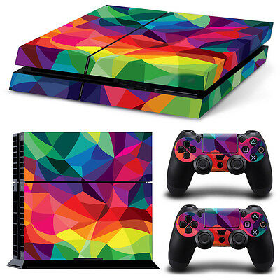 0271* Skin Sticker Vinyl Decal Cover For PlayStation 4 PS4 Console+Controllers