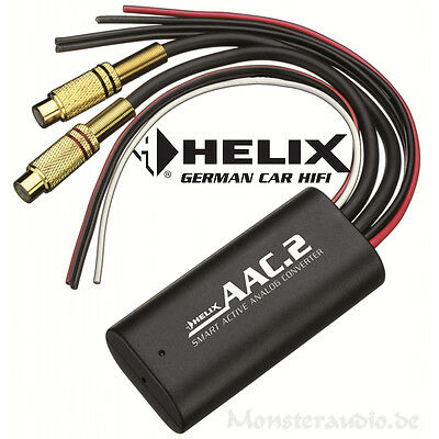 Helix AAC.2 PKW High-Low-Adapter Hochpegeladapter Konverter/Converter/Wandler