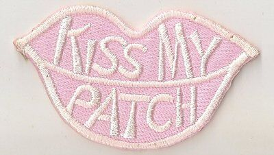 Ecusson Kiiss my patch 65mm x 40mm