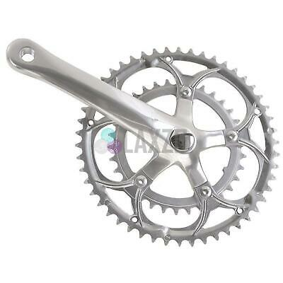 Sunrace Double Alloy Road Bike Crankset 39/53T x 170mm + Extra 42/52T Rings