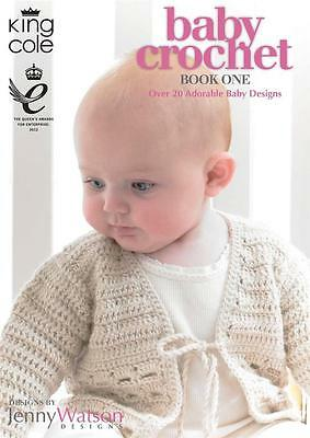 King Cole Baby Crochet Book One - Over 20 Adorable Baby Designs By Jenny Watson