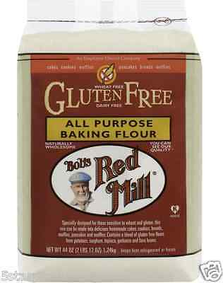 New Bob's Red Mill All Purpose Baking Flour Gluten Casein Free Cooking Lunch