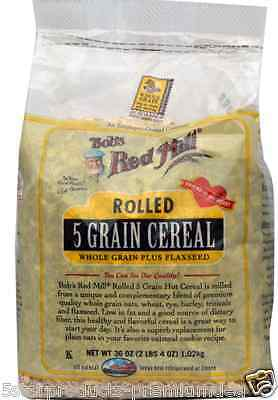 New Bob's Red Mill Rolled 5 Grain Cereal Whole Grain Breakfast Foods Daiily Oats