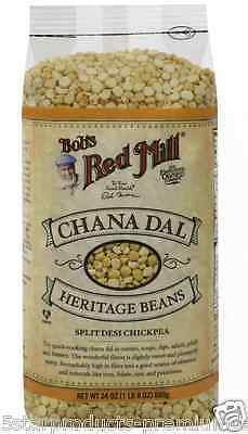 New Bob's Red Mill Chana Dal Heritage Beans Quick Cooking Dietary Fiber Vitamin